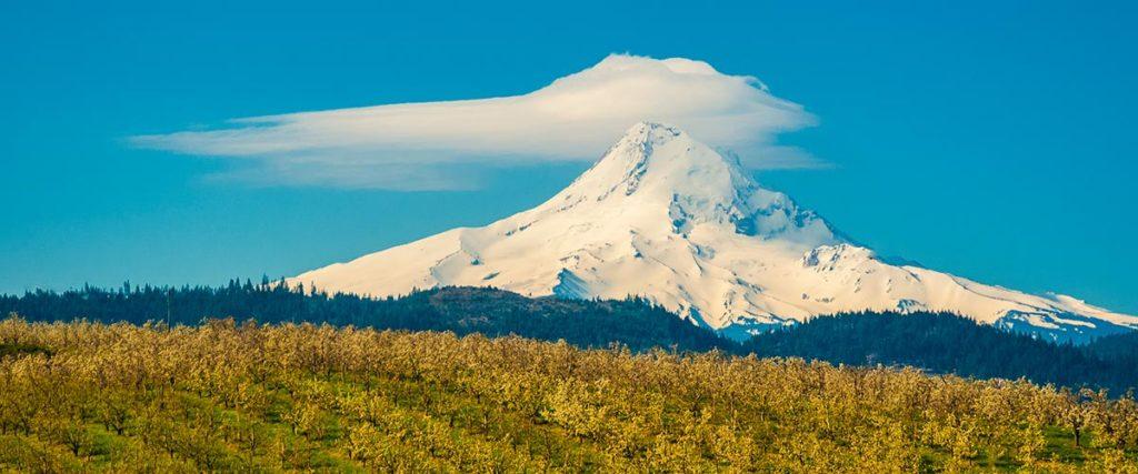 Mt Hood from Hood River Oregon