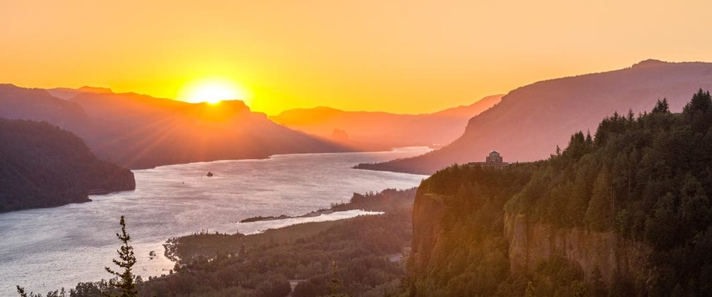 Columbia Gorge Sunrise